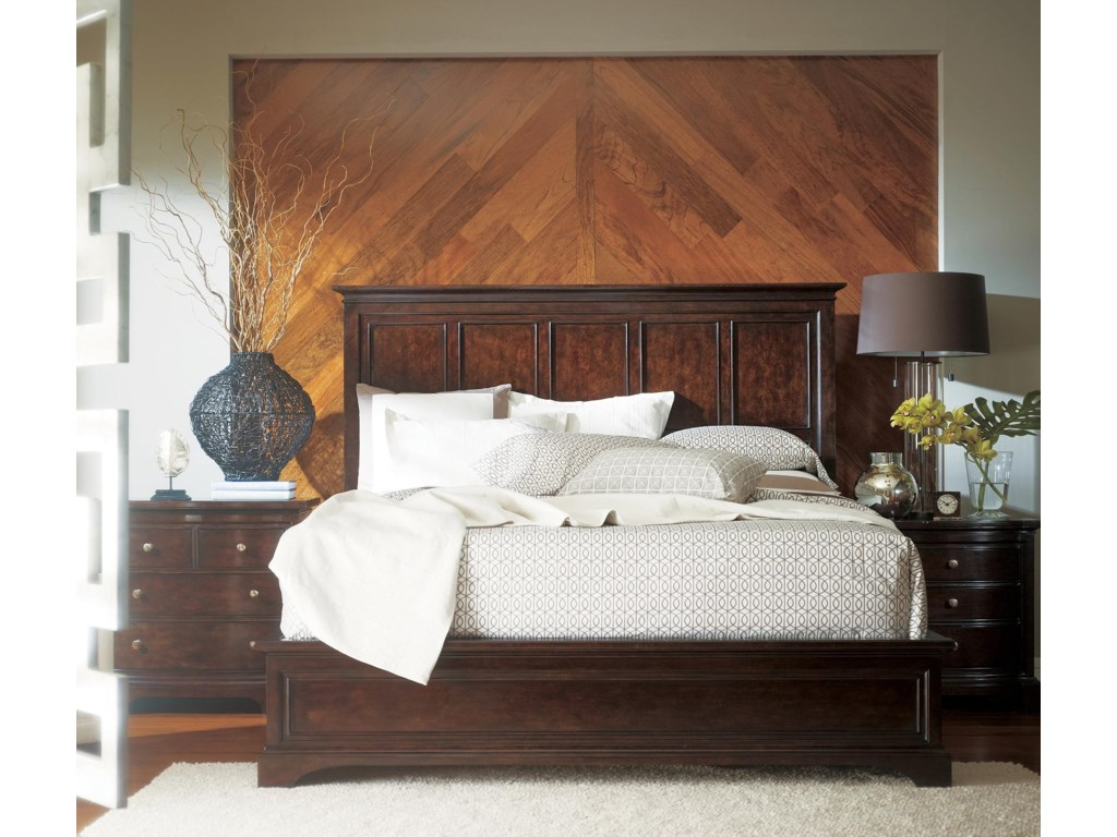 Shown with Panel Bed and Night Stand