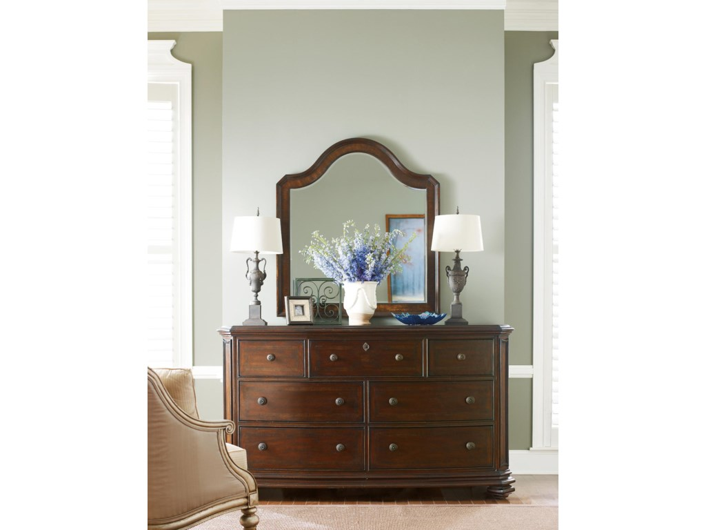 Shown with Triple Dresser