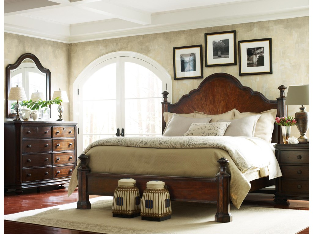 Shown with Double Dresser, Mansion Bed, and Night Stand