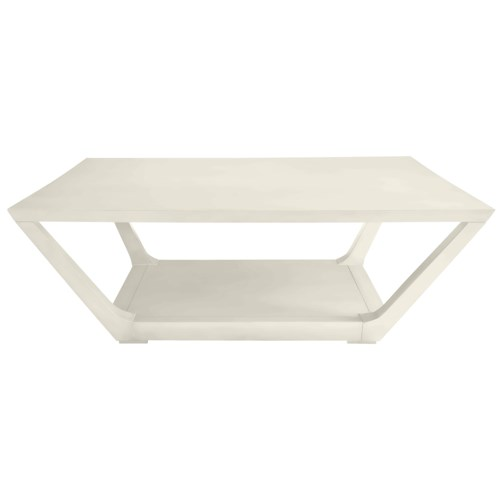 Stanley Furniture Coastal Living Oasis Poseidon Cocktail Table with Square Top