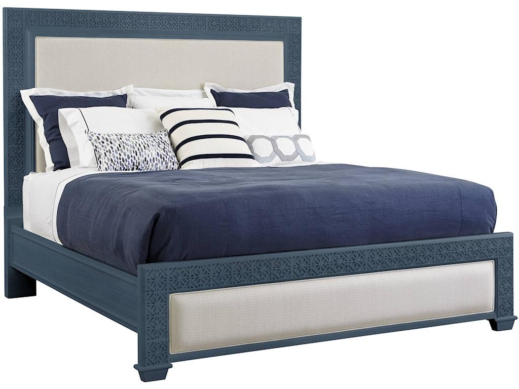 Oasis Bedroom Furniture Stanley Furniture Coastal Living Oasis Queen Catalina Panel Bed