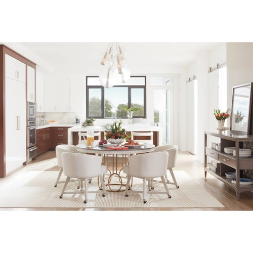 Stanley Furniture Coastal Living Oasis Casual Dining Room Group