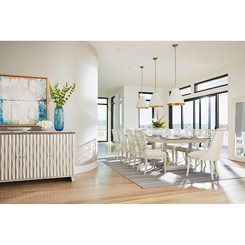 Stanley Furniture Coastal Living Oasis Formal Dining Room Group