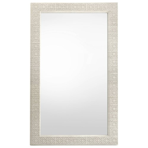 Stanley Furniture Coastal Living Oasis Catalina Floor Mirror with Fretwork Trim