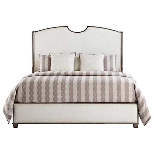 Stanley Furniture Coastal Living Oasis King Upholstered Solstice Canyon Shelter Bed