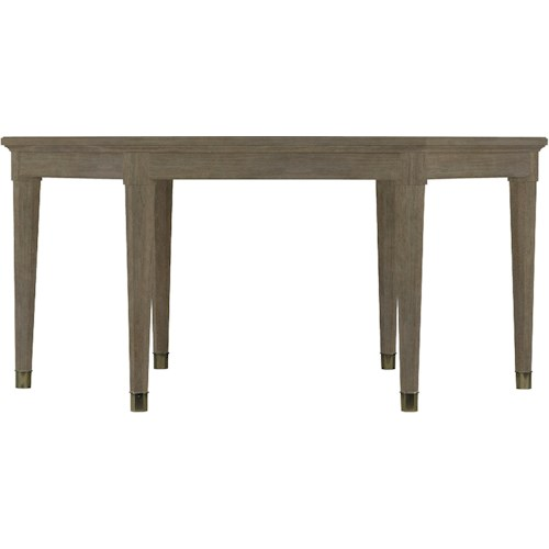 Stanley Furniture Coastal Living Resort Hexagon-Shaped Soledad Promenade Leg Table