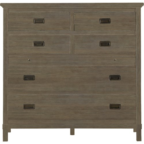Stanley Furniture Coastal Living Resort Haven's Harbor Media Chest with Pull Out Work Surface