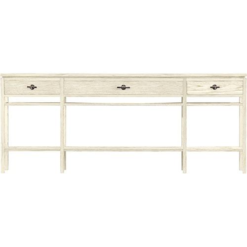 Stanley Furniture Coastal Living Resort 3 Drawer Palisades Sofa Table