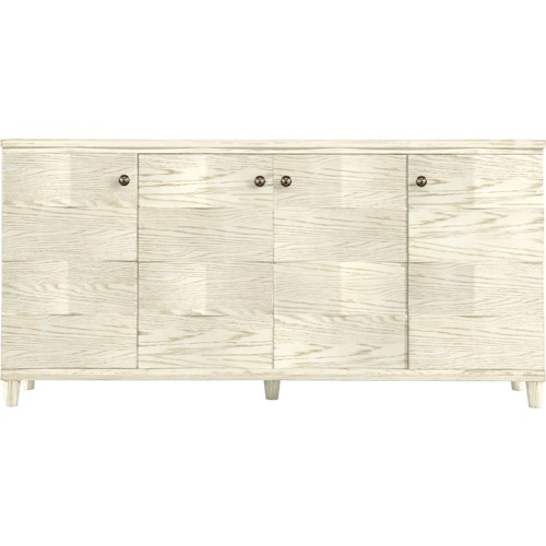 Stanley Furniture Coastal Living Resort Ocean Breakers Console with Pocket Doors