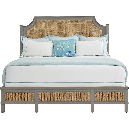 Stanley Furniture Coastal Living Resort Queen Water Meadow Woven Bed