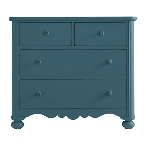 Stanley Furniture Coastal Living Retreat Seaside Chest with Drop Front Drawer