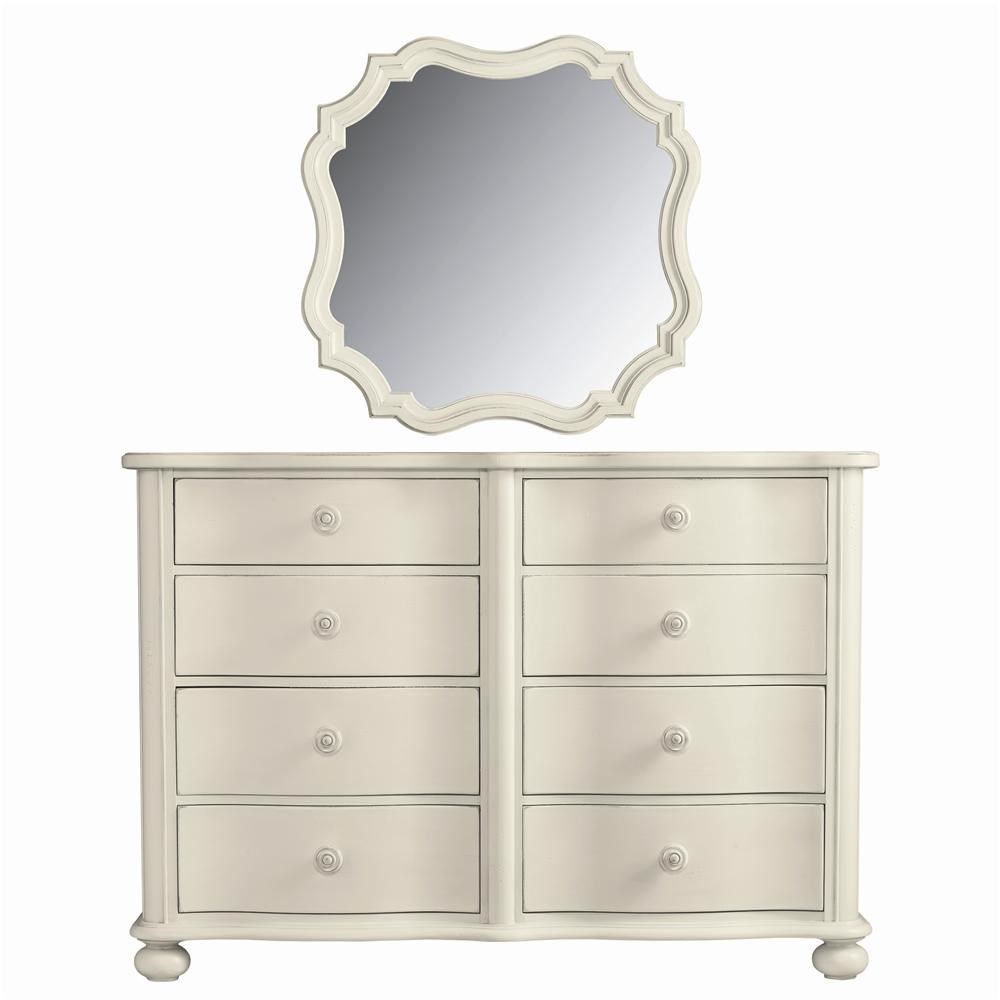 Good Stanley Furniture Coastal Living Cottage #14: Stanley Furniture Coastal Living Cottage 8 Drawer Weekend Dresser And Piecrust Mirror Combination - Baeru0026#39;s Furniture - Dresser U0026amp; Mirror