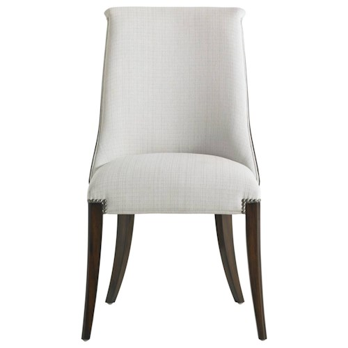 Stanley Furniture Crestaire Presley Host Chair with Nailhead Trim