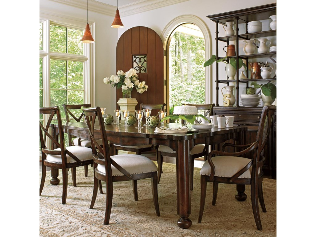 Shown with Campagne Cabinet, Farmer's Market Table, and Fairleigh Fields Host and Guest Chairs