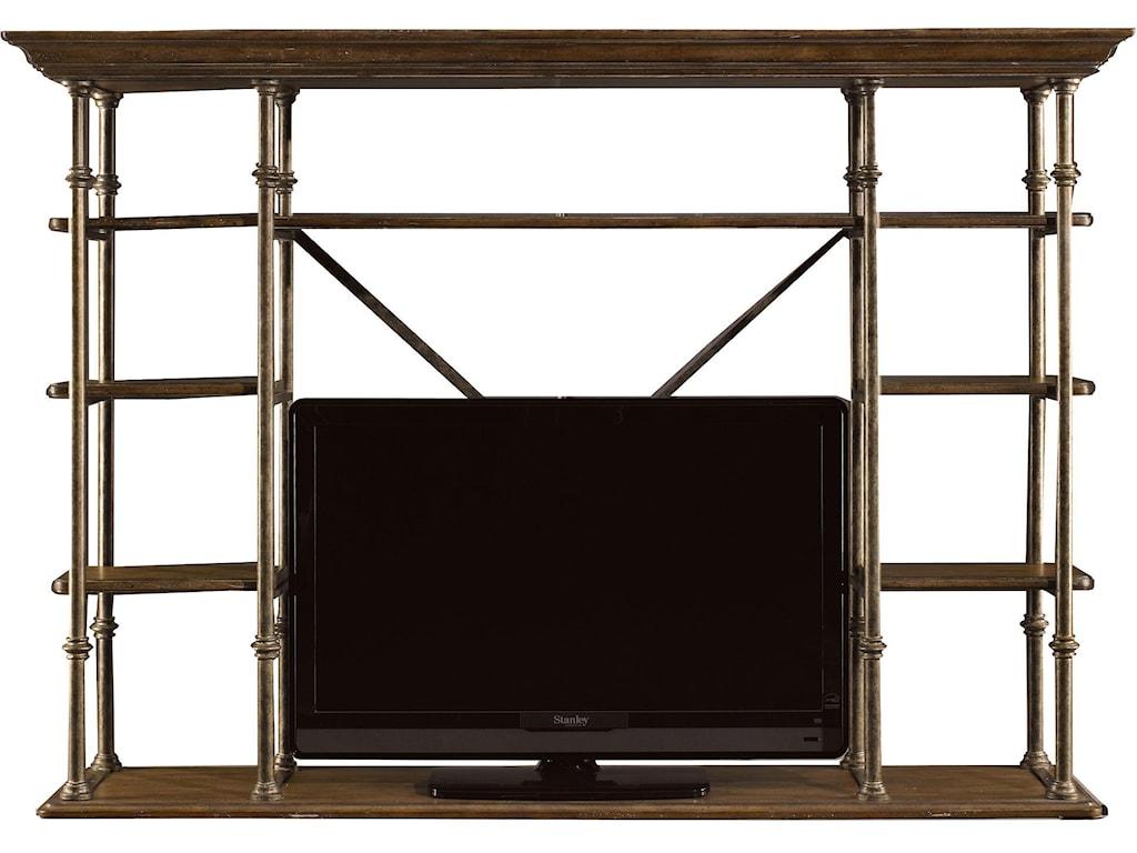 L'Acrobat Open Air Shelf without Shelves for Media Unit