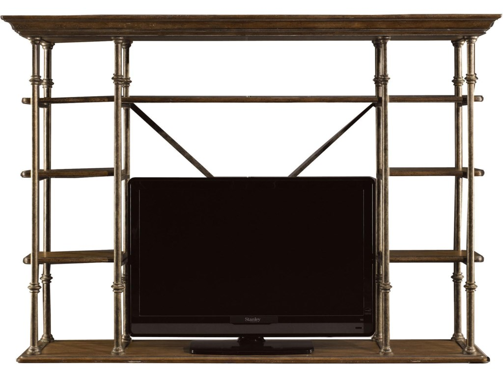 Used as Media Hutch (Position on top of Campagne Cabinet)