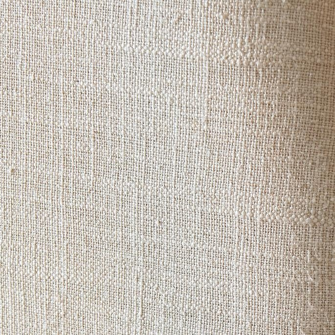 Chair Fabric in Slubby Belgian Oatmeal Linen