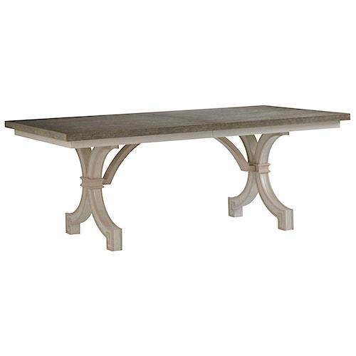 Stanley Furniture Preserve St. Helena Trestle Table