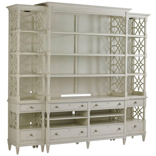 Stanley Furniture Preserve Pavillion Media Bookcase
