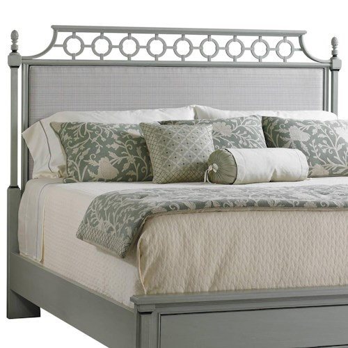 Stanley Furniture Preserve Queen Botany Upholstered Headboard