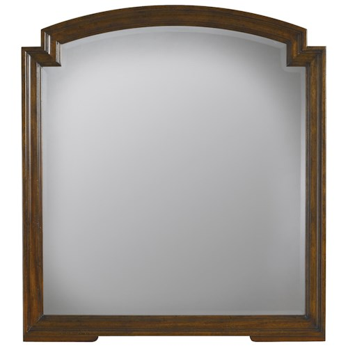 Stanley Furniture The Classic Portfolio - Vintage Beveled Mirror w/ Wood Molding
