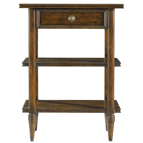 Stanley Furniture The Classic Portfolio - Vintage Antiqued Telephone Table