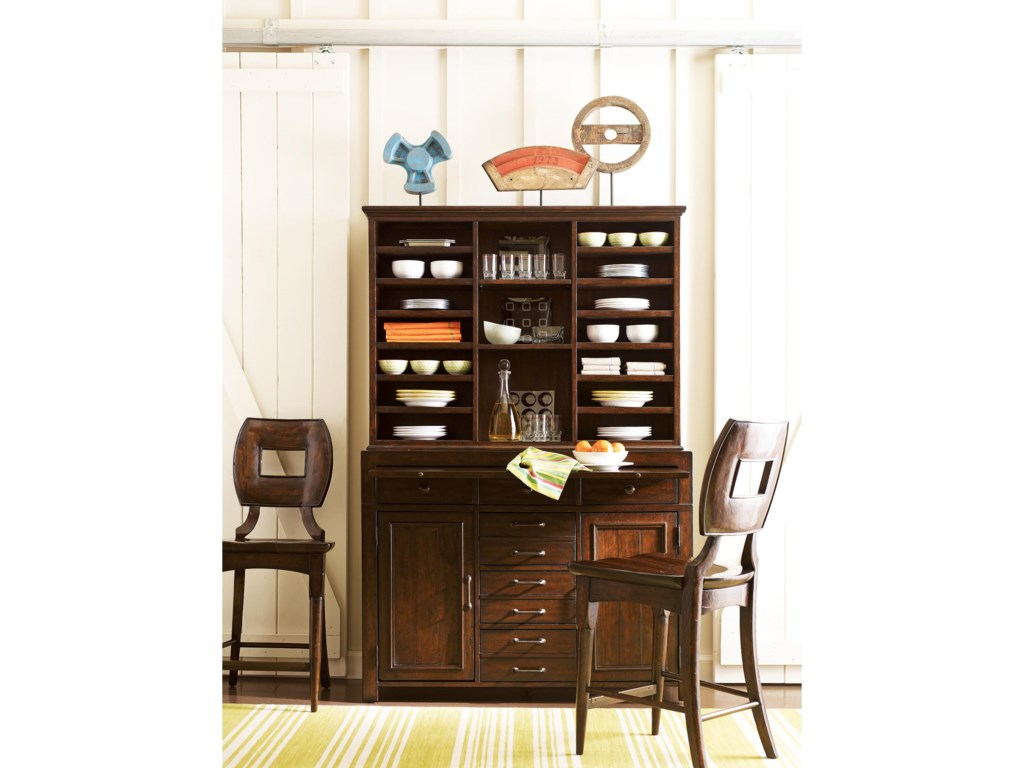 Shown with Buffet and Hutch