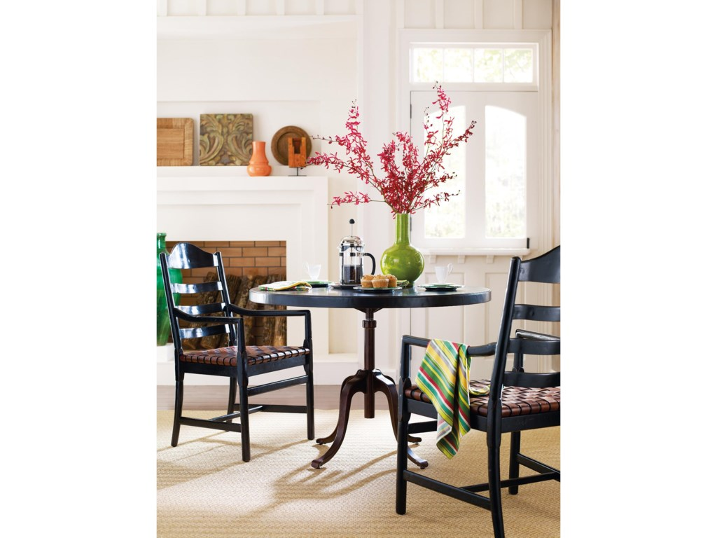 Shown with Adjustable Round Table