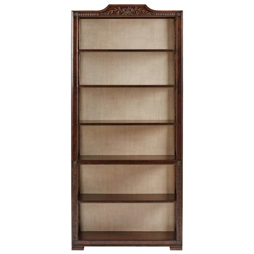 Stanley Furniture Villa Couture Viviana Bookcase with Glaze Back Finish