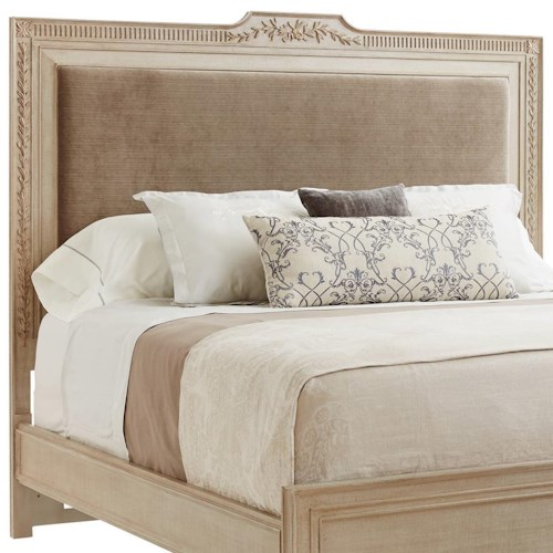 Stanley Furniture Villa Couture Queen Alessandra Upholstered Headboard