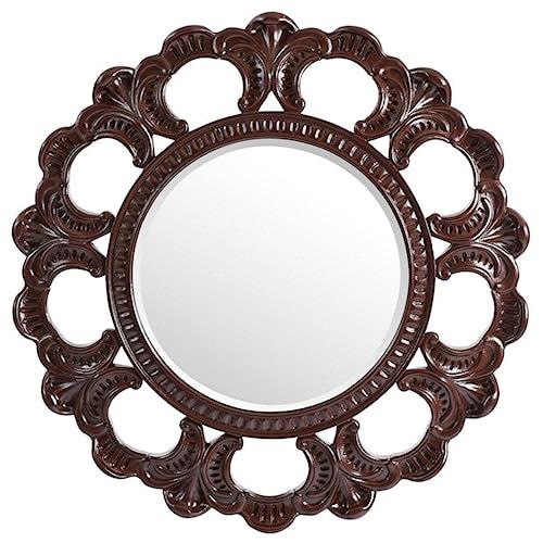 Stanley Furniture Villa Couture Round Aurora Mirror