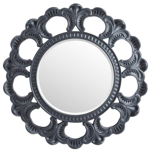 Stanley Furniture Villa Couture Round Aurora Mirror