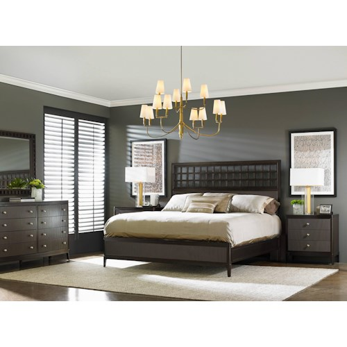 Stanley Furniture Wicker Park  Contemporary King Bedroom Group