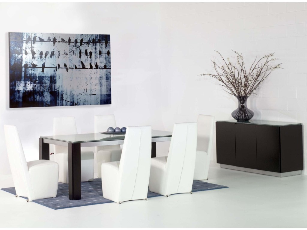 Shown with Veronica Dining Table and Veronica Buffet