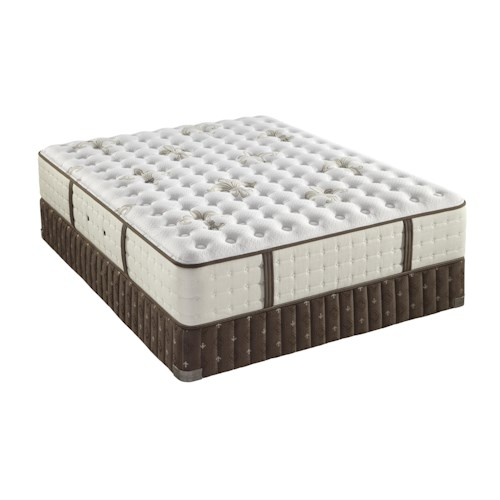 Stearns & Foster Cortazar Luxury Cushion Firm Queen Cushion Firm Mattress and Box Spring