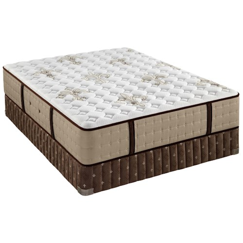 Stearns & Foster Sainte Rose Ultra Firm King Ultra Firm Mattress and Low Profile Box Spring