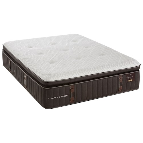 Stearns & Foster Reserve California King Firm Euro Pillowtop Mattress