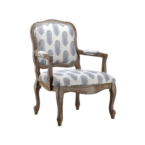 Stein World Accent Chairs Chair with New Delhi Royal Fabric