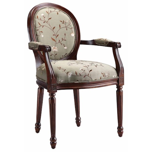 Stein World Accent Chairs Accent Chair w/ Oval Back
