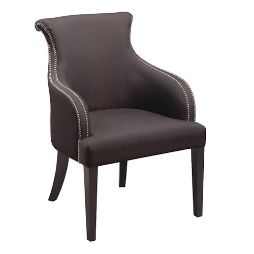 Stein World Accent Chairs Contemporary Padded Accent Chair