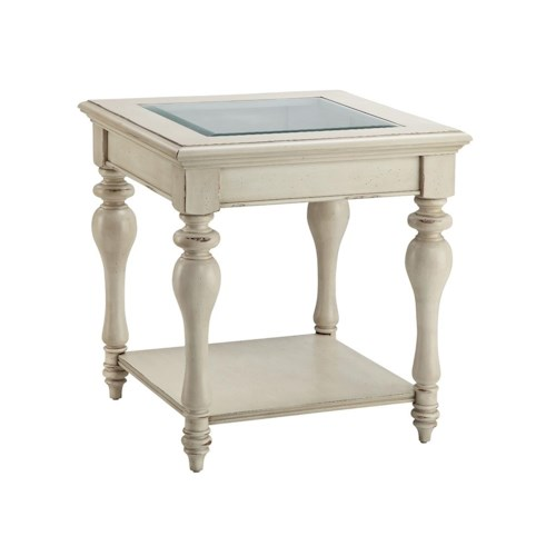 Morris Home Furnishings Accent Tables Delphi End Table