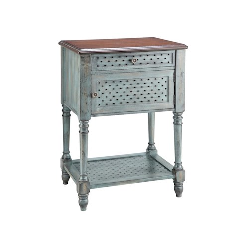 Stein World Accent Tables Accent Table 1 Door 1 Drawer