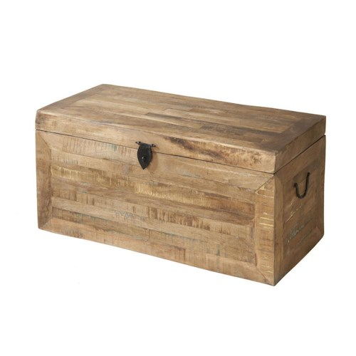 Morris Home Furnishings Accent Tables Reclaimed Trunk