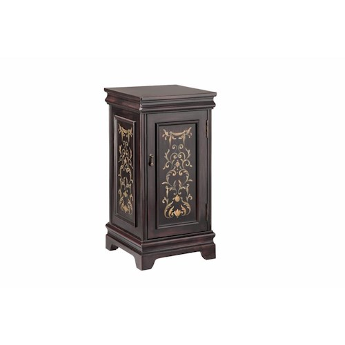 Stein World Accent Tables Pedastal with Door Storage