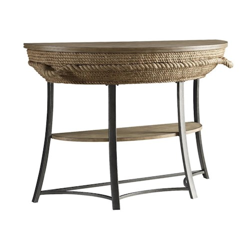 Stein World Accent Tables Crescent Key Sofa Table