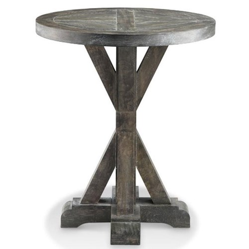 Stein World Accent Tables Bridgeport Round Side Table