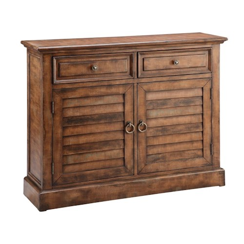 Morris Home Furnishings Cabinets 2 Door, 2 Drawer cabinet
