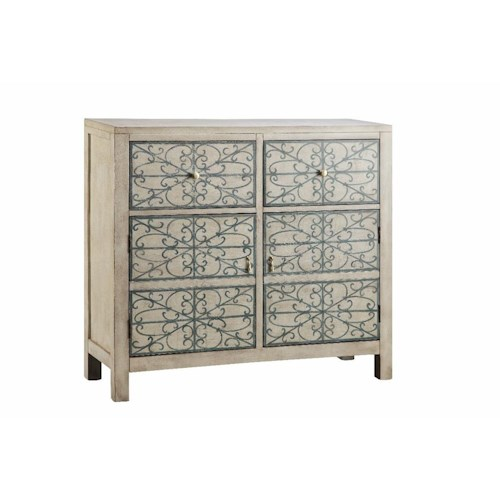 Morris Home Furnishings Cabinets 2 Drawer, 2 Door Cabinet