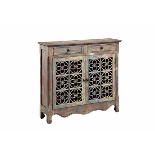 Morris Home Furnishings Cabinets 2 Door, 2 Drawer Cabinet
