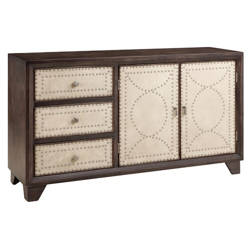 Morris Home Furnishings Cabinets Colette Accent Cabinet